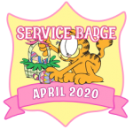 Service Badge: April 2020