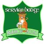 Service Badge: March 2020