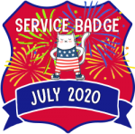 Service Badge: July 2020