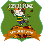 Service Badge: September 2020