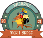 Merit Badge – Packrat