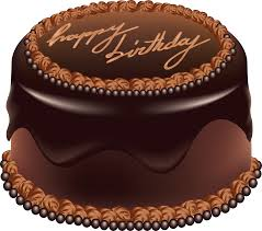 Birthday cake chocolate