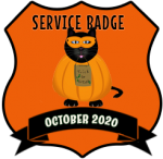 Service Badge: October 2020